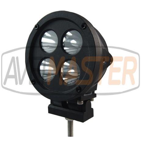 Farol de Trabalho LED Redondo WT64 R 40W - 041400