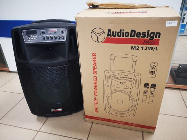 Głosnik przenośny Audio Design Pro M2 12W/L 450W