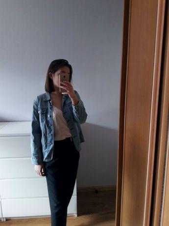 Kurtka katana koszula jeansowa