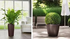 Большие новые вазоны для садовых цветов и рассады