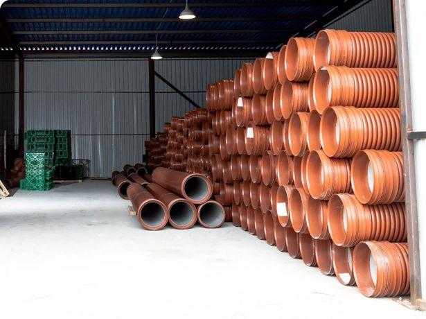 Гофрированная труба для канализации и дренажа Корсис Инкор Прагма