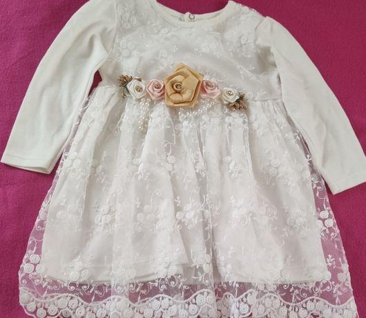 Платтячко нарядне на принцесу. 6 місяців -1.5 рочки