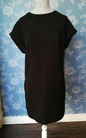 Sukienka oversize z grubej bawełny marki Mango w rozmiarze Xs