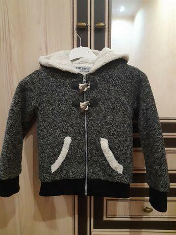 Тепла кофта-куртка