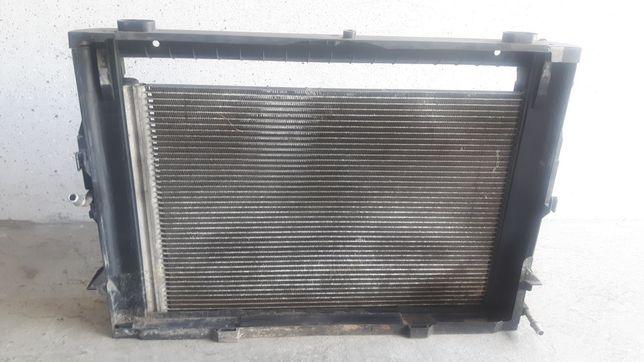 Chłodnica skraplacz obudowa klimatyzacji BMW E60 E61 2.2 2.5 3.0 benz
