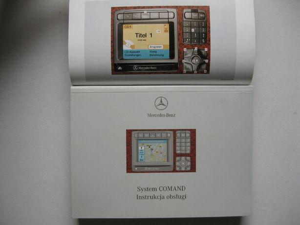 Mercedes COMAND W220 Polska instrukcja obsługi Comand CL C215