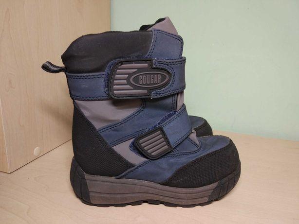 Сапоги ботинки зимние термо для мальчика