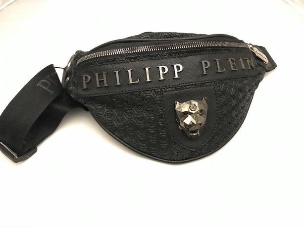Philipp Plein LOGO saszetka nerka wilk