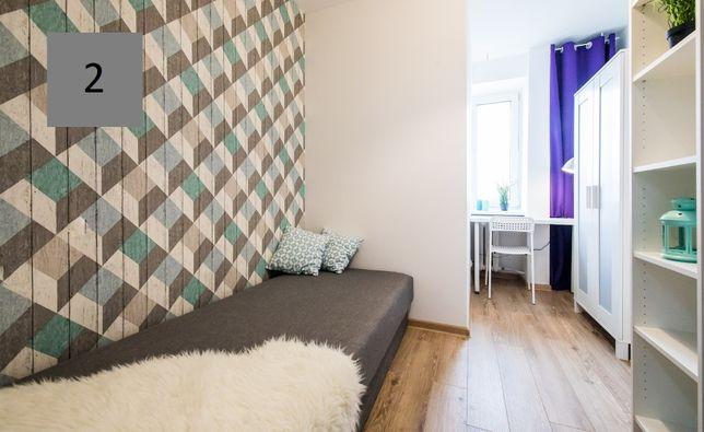 Nowoczesny wyremontowany pokój standard IKEA ul. Majdańska Praga