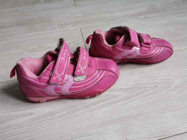 Różowe adidasy dla dziewczynki