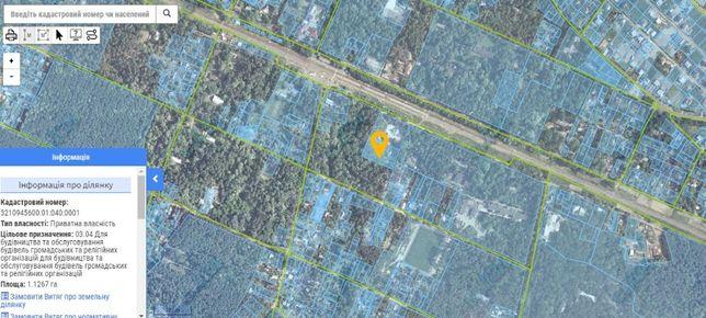 Продам земельный участок 45 соток, Ворзель, Киевская область