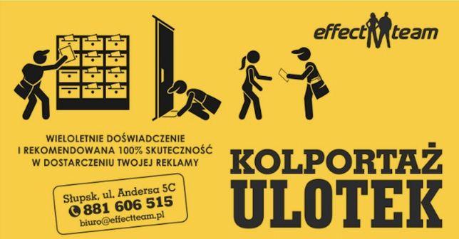 Profesjonalny Kolportaż Ulotek Reklama Effect Team ul. Andersa 5c