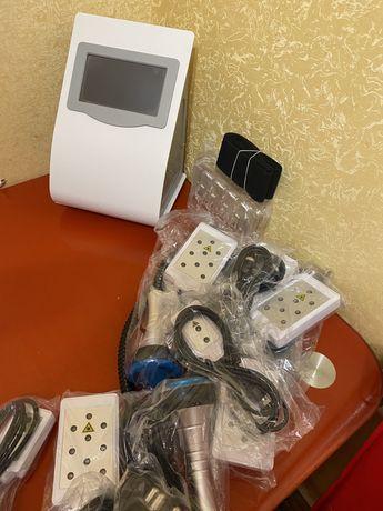 Аппарат для коррекции фигуры 6 в 1/RF лифтинг/кавитации/ваккума/липоли