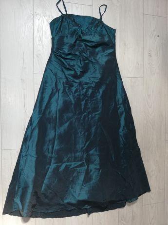 suknia wieczorowa sukienka wesele impreza 46