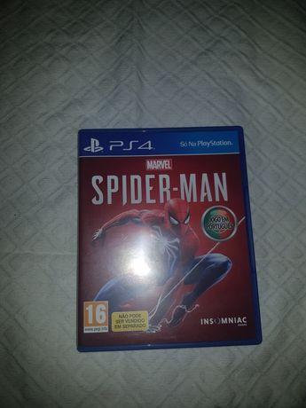 Spider man PS4 como novo