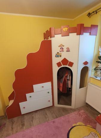 Wieża Księżniczki stan BDB szuflady schody PIĘKNA szafa