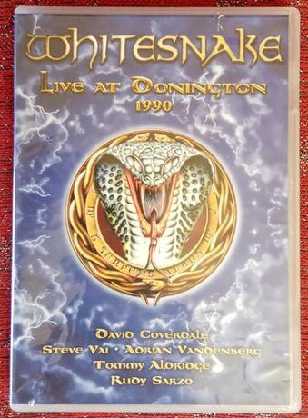 WHITESNAKE – Live At Donington 1990 [DVD coleccionável, muito raro)