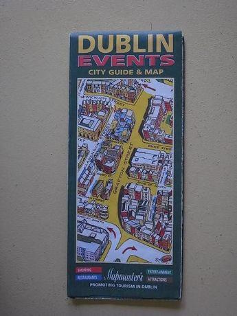 brochura mapas antigos cidades europeias