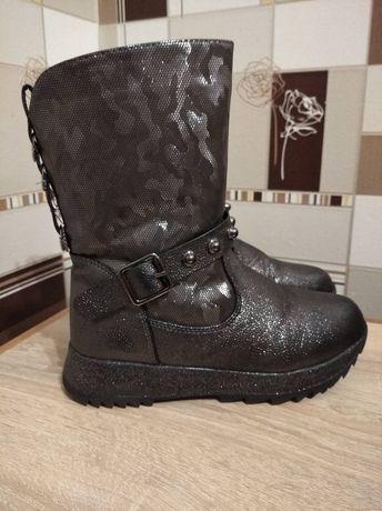 Зимние сапоги ботинки для девочки