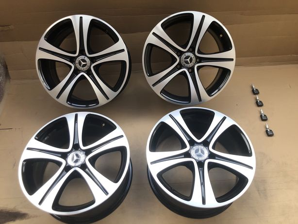 Oruginalne Felgi aluminiowe Alufelgi 17 Cali Mercedes Benz Klasa E
