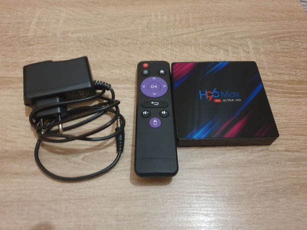 Smart TV box H96 Max Android Tuner TV Android 9 9