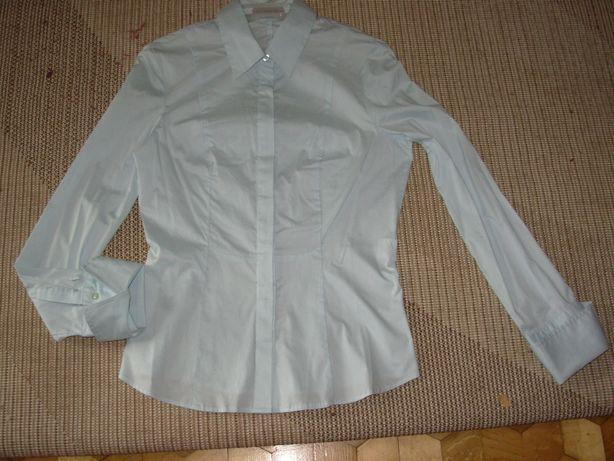 nowa bawełniana elegancka koszula bluzka linea m/38 s/36
