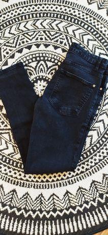 Spodnie czarne męskie S