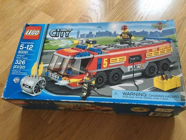 Лего Lego 60061, пожежна машина для аеропорту
