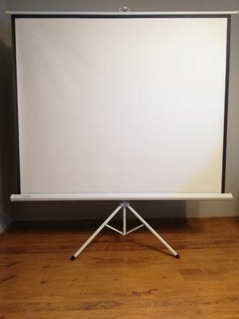 Ekran projekcyjny statywowy 100''