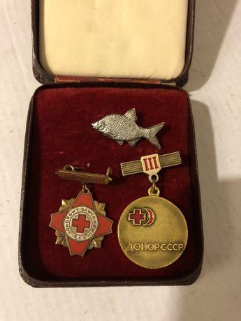 Odznaki CCCP .