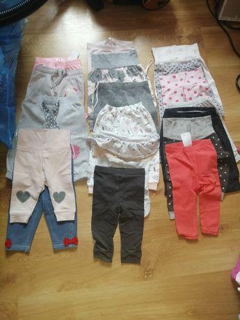 Wyprawka dla dziewczynki 62/68 mega paka ubranek dla dziewczynki