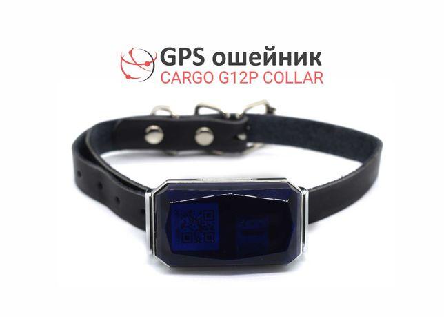 GPS трекер ошейник, влагостойкий для животных собак и кошек Collar 12P