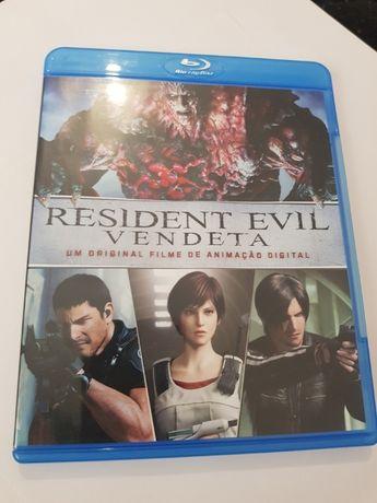 Resident Evil Vendeta blu ray