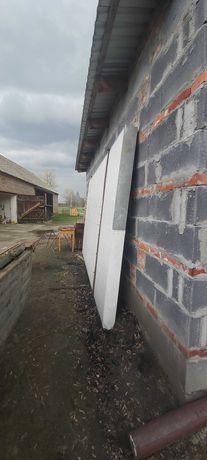 Brama garażowa ocieplana