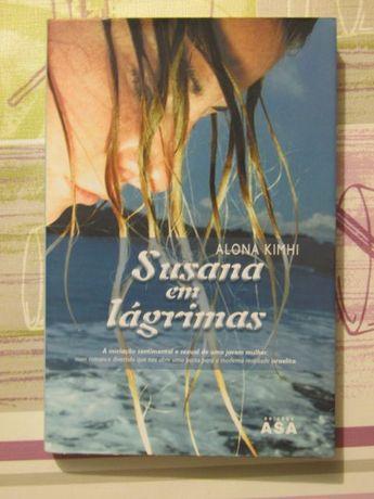 """LIVRO """"Susana em lágrimas"""", de Alona Kimhi"""