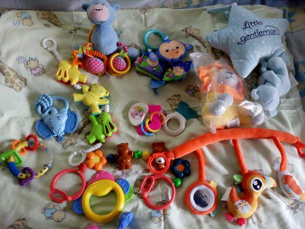 Komplet zabawek nowych i używanych