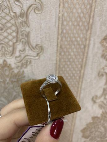 Кольцо- серебро 925