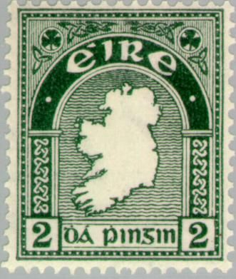 Продам рідкісну Ірландську марку,1935