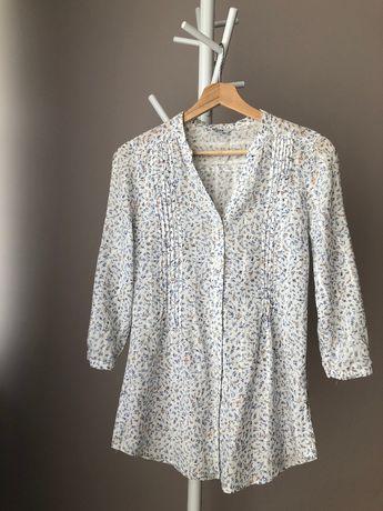 Długa koszula tunika w kwiaty kwiatki Pimkie boho XS 34