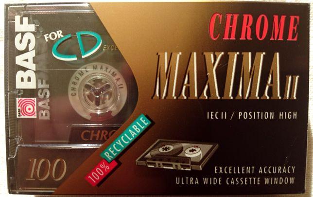 BASF Chrome Maxima II 100 - kaseta magnetofonowa - folia