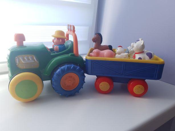 Трактор.    ферма