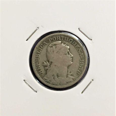 moeda 50 centavos 1938 - alpaca - rara