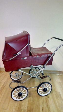 Wózek dziecięcy dla lalek z czasów PRL