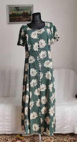 Sukienka lniana Betty Barclay r. 42
