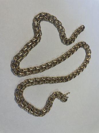 Złoty łańcuszek 585, 78/79g, ładny 60 cm