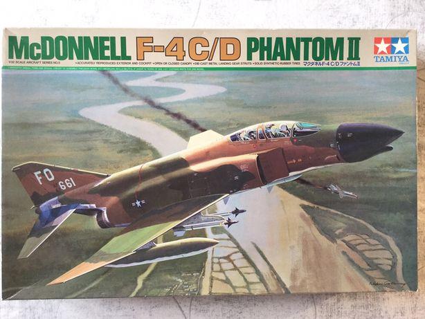 Kit Tamiya 1/32 Phantom II F-4C/D Vietnam Mig Killer (edição 1995)