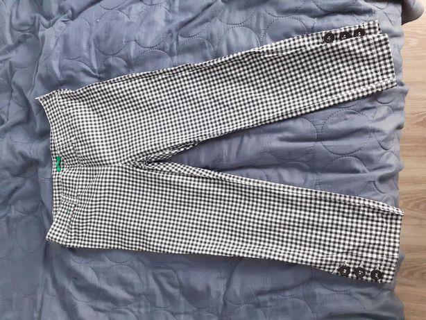 Spodnie rybaczki, benetton, 150