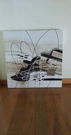 Quadros (2) em Tela Abstracto