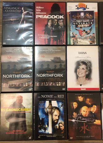 Filmes DVDs diversos