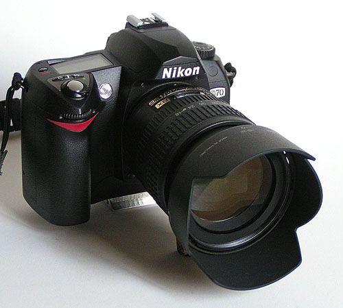 Фотоаппарат Nikon D70 Объектив Sigma